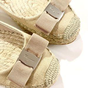 Salvatore Ferragamo Shoes - Salvatore Ferragamo sz 6 Blake flats espadrilles